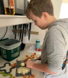 Daniel Halls Making Lunch (Medium)